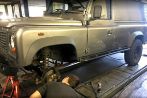 Land Rover Discovery Service Centre Repairs in North London