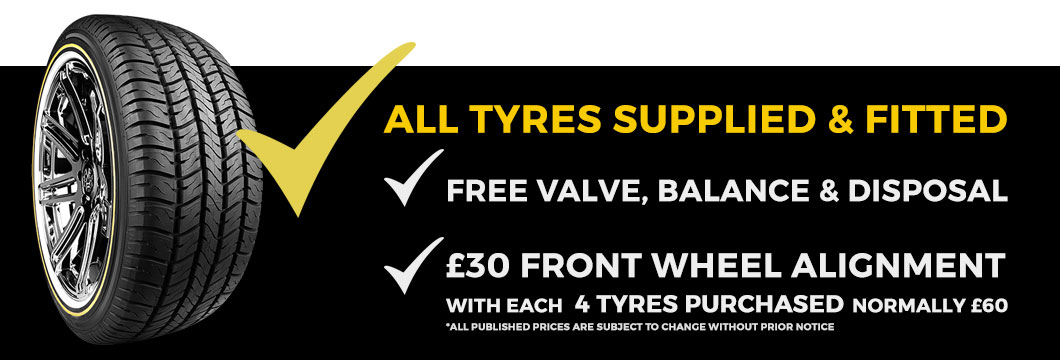 Cheap Tyres North London