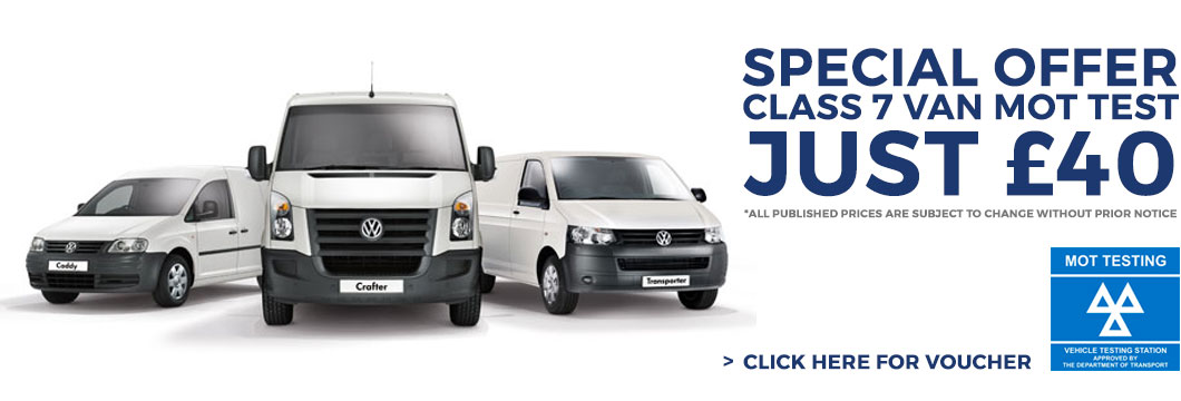 Van MOT Tests for FInchley, Muswell Hill, Highgate and North London