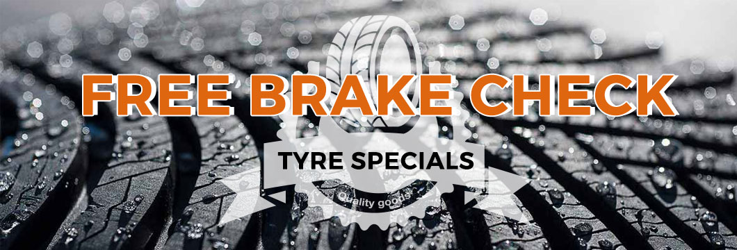 FREE brake check and cheap tyres North London