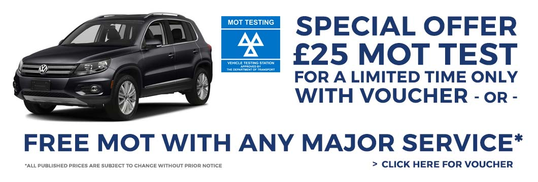 FREE MOT Test North London
