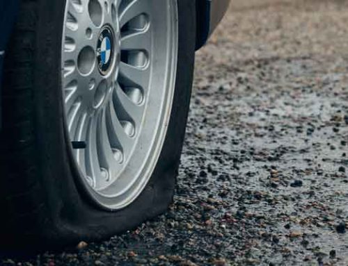 How to safely change a wheel