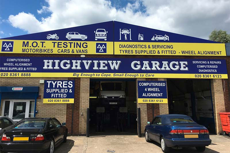 Home Highview Garage
